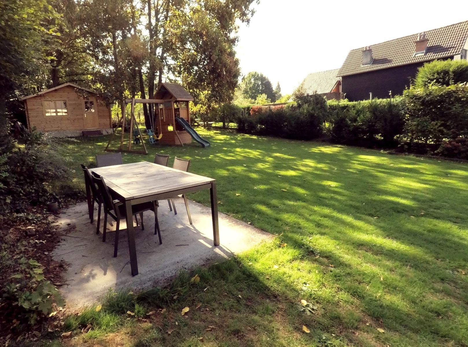 Rez-de-ch. avec jardin - à vendre - 1180 Uccle